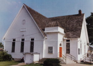 Old church before fire